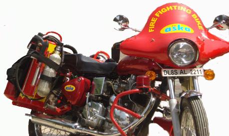 Fire Fighting Motor Bike Blaze Buster