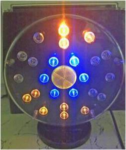 Solar Warning Light 24 Led