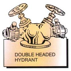 Double Headed Hydrant