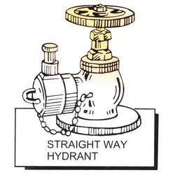 Straight Way Hydrant