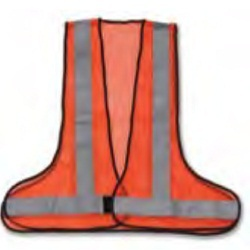 3 Side Opening Reflective Vest