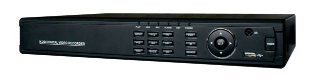 16 Channels full D1 Realtime DVR