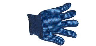 Dotted hand gloves safety gloves