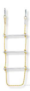 Polypropylene Aluminum Rope Ladder