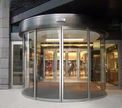 Automatic Curve Door
