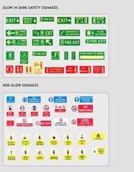 Glow Safety Signage