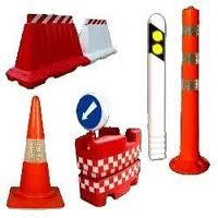 Traffic Cone Spring Post & Barrier