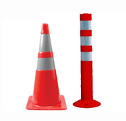 Springer Post & PVC Safety Cones
