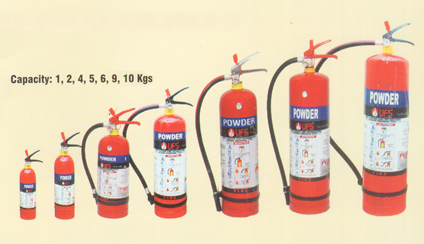 Dry Powder Fire Extinguisher ABC Type