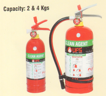 Clean Agent Fire Extinguisher(Stored Pressure) Portable Type
