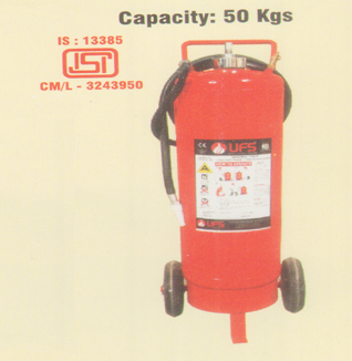 Water Based Fire Extinguisher Trolley Mounted (Gas Cartridge)