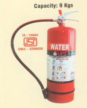 Water Based Fire Extinguisher Trolley Mounted (Stored Pressure)