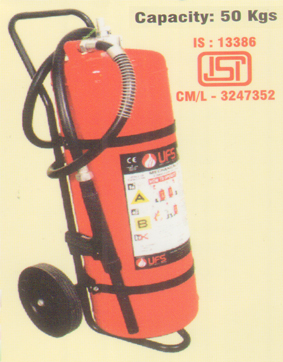 Mechanical Foam Based Extinguisher