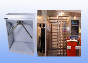 Waist & Full Height Tripod Turnstiles